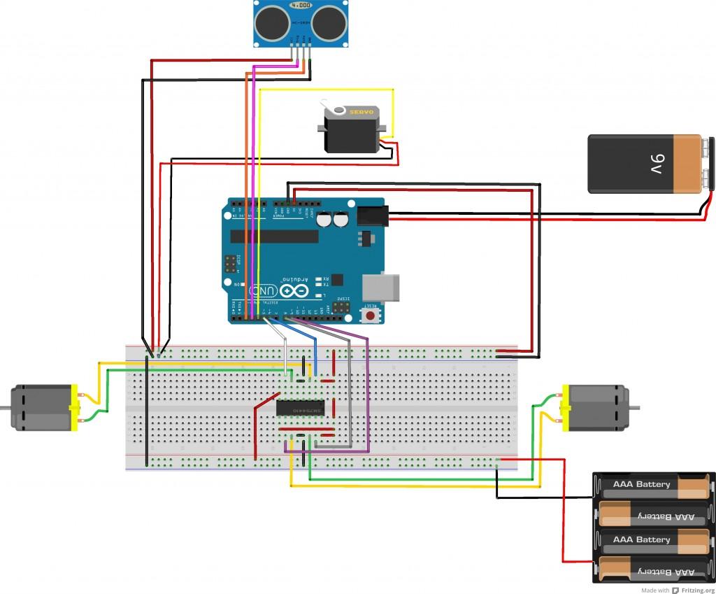 Arduino Roboter Steuerung
