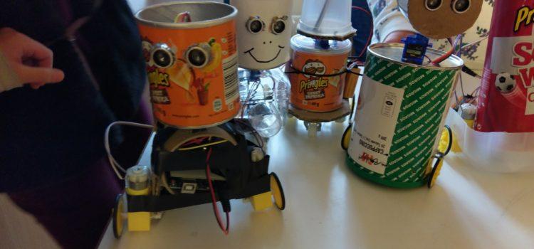 Robotik Projekt Privatschule Tandem